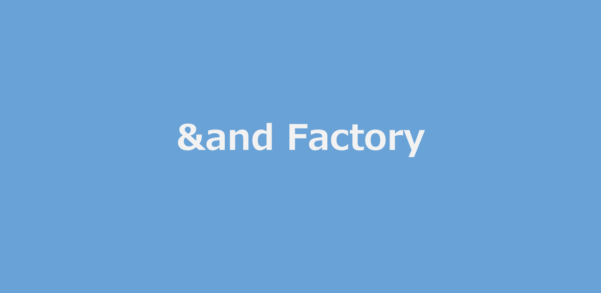 andfactory